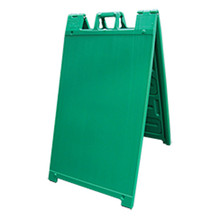 Green Plastic A-Frame