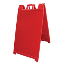 Red Plastic A-Frame