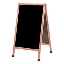 Wood Chalkboard A-Frame