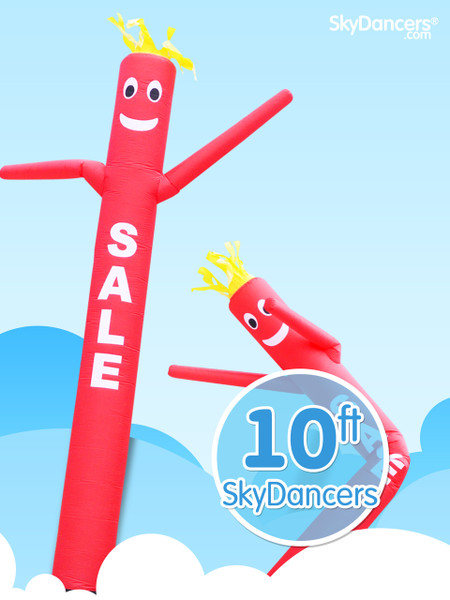 Sky Dancer Red SALE - 10ft