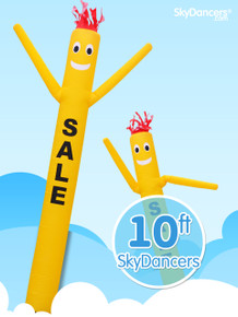 Sky Dancers Yellow SALE - 10ft
