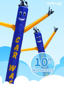 Sky Dancers CAR WASH with Car Shape - 10ft