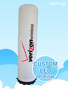 Custom Inflatable LED Pillar
