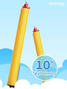 Sky Dancers Tube Yellow - 10ft