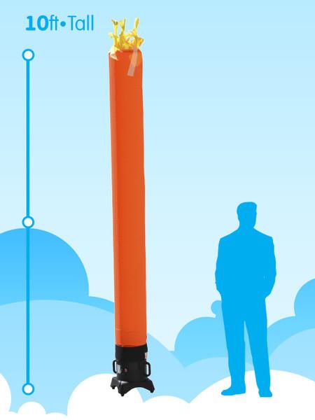 Sky Dancer Tube Orange - 10ft