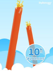Sky Dancers Tube Orange - 10ft