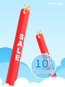 Sky Dancers Tube Red SALE - 10ft