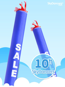 Sky Dancers Tube Blue SALE - 10ft