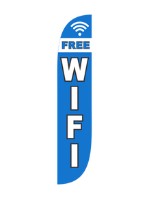 Free Wifi Feather Flag