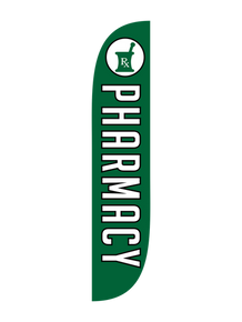 Pharmacy Feather Flag