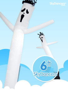 Ghost halloween inflatable sky dancer dancing advertising decoration product.