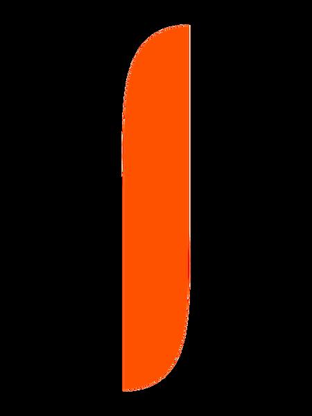 Orange Feather Flag