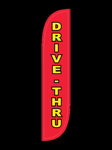 Drive-Thru Feather Flag
