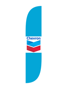 Chevron Feather Flag