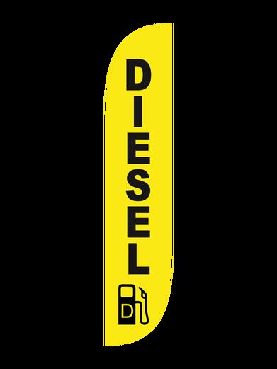 Diesel Feather Flag