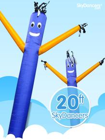 Sky Dancers Blue & Yellow - 20ft