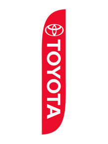 Toyota Feather Flag