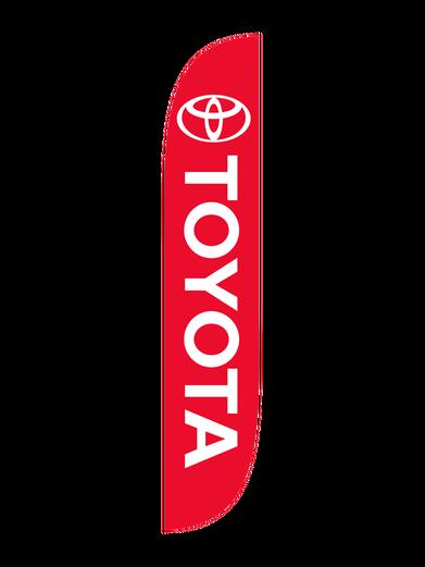 Toyota Feather Flag