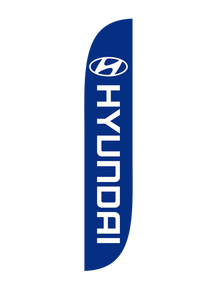 Hyundai Feather Flag