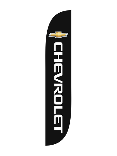 Chevrolet Feather Flag