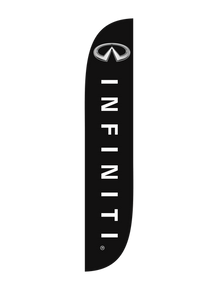 Infiniti Feather Flag