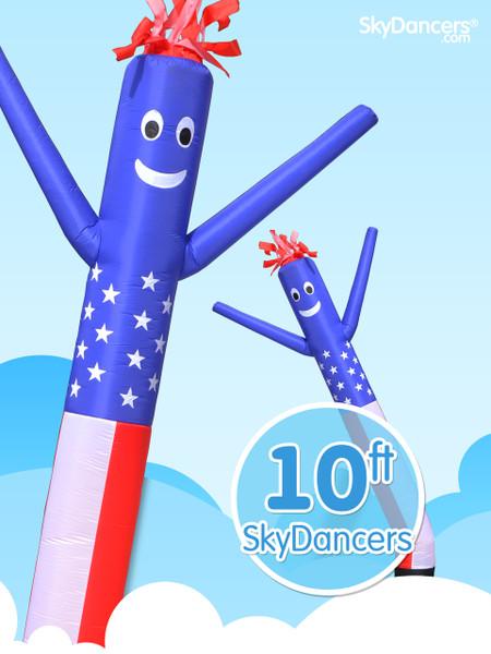 Sky Dancers American Flag - 10ft