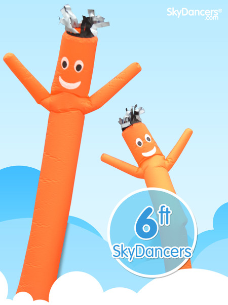 Sky Dancers Orange - 6ft