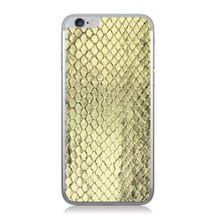 iPhone 6 Back Genuine Anaconda Gold Foil