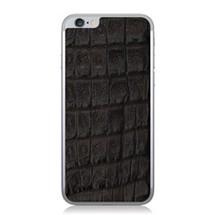 iPhone 6 Back Genuine Crocodile Black