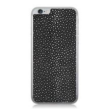iPhone 6 Back Genuine Stingray Black Polished