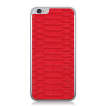 iPhone 6 Back Genuine Python Red