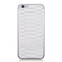 iPhone 6 Back Genuine Python White