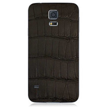 Samsung Galaxy S5 Back Genuine Alligator Black