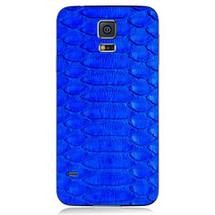 Samsung Galaxy S5 Back Genuine Python Cobalt