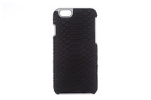 iPhone 6/6S Case Genuine Python Black