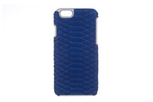 iPhone 6/6S Case Genuine Python Cobalt