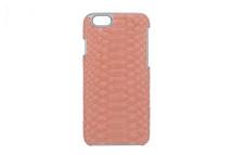 iPhone 6/6S Case Genuine Python Pink