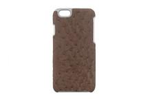 iPhone 6/6S Case Genuine Ostrich Mink