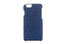 iPhone 6/6S Case Genuine Ostrich Cobalt