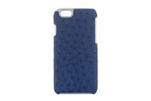 iPhone 6/6S Case Genuine Ostrich Cobalt
