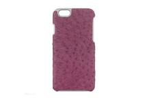 iPhone 6/6S Case Genuine Ostrich Lilac