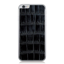 iPhone 6 Back Genuine Alligator Black