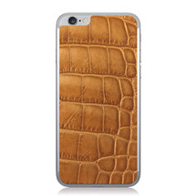 iPhone 6 Back Genuine Alligator Caramel