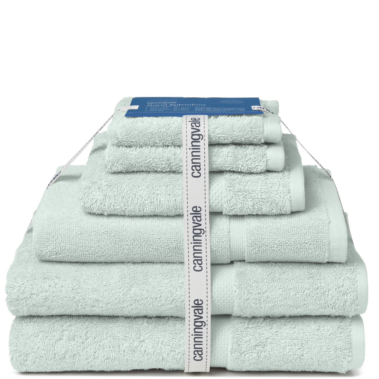 Canningvale-NEW-6-Piece-Royal-Splendour-100-Cotton-Bath-Hand-Face-Towel-Set