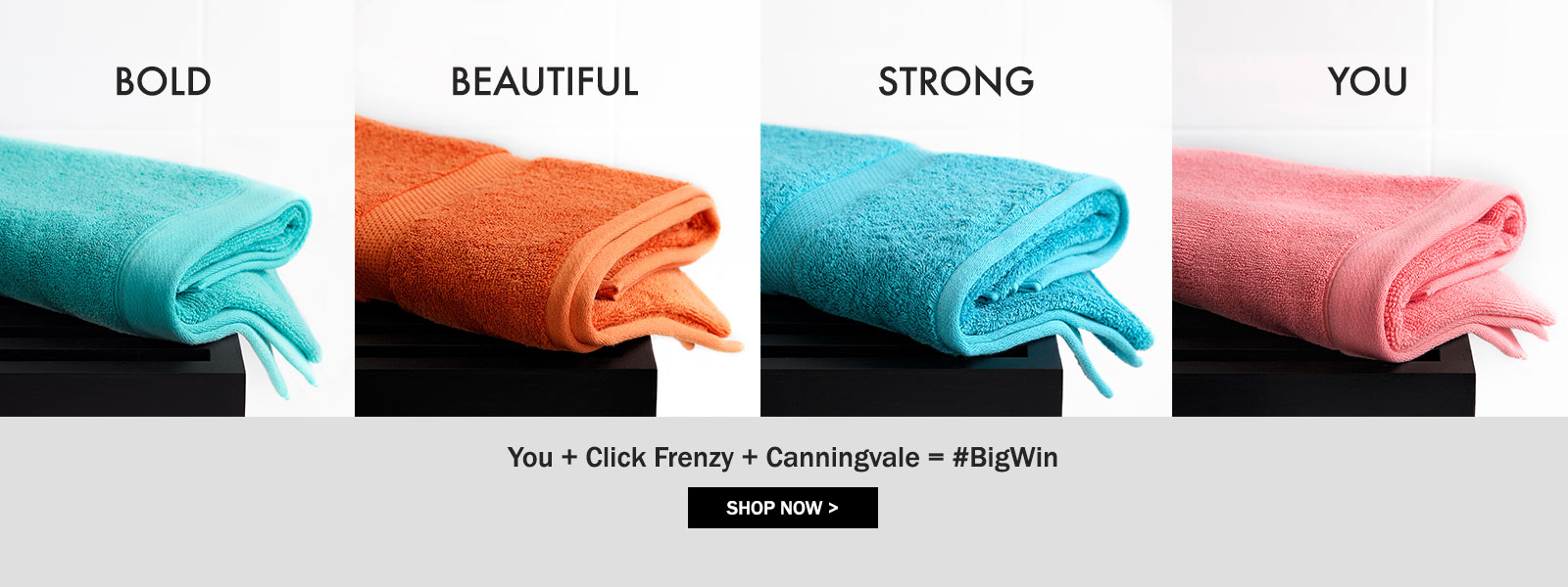You + Click Frenzy + Canningvale = #BigWin