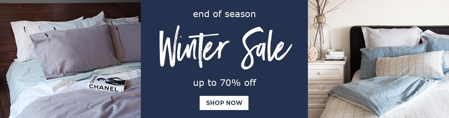 End of season winter sale