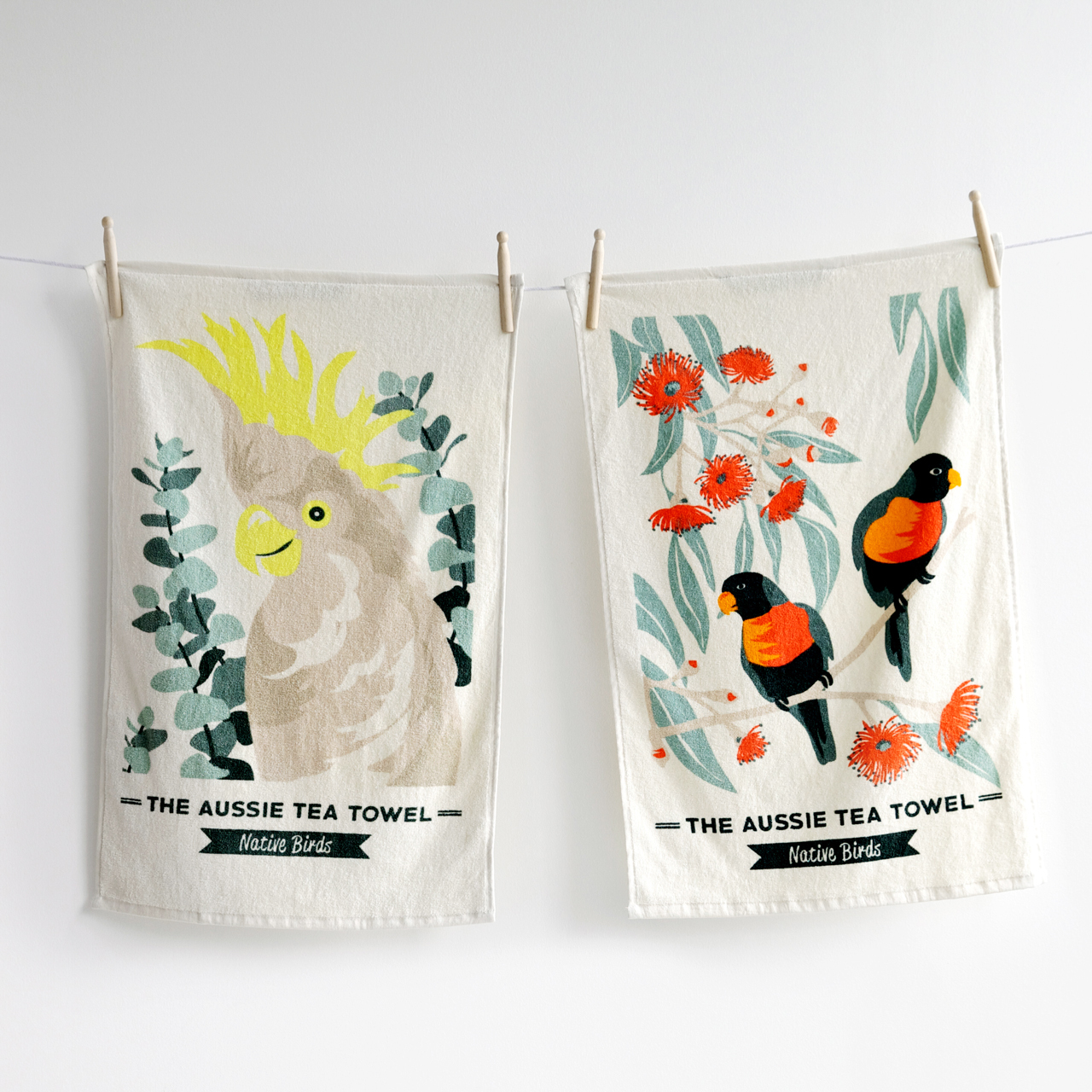 Canningvale - Aussie Tea Towel Twin Pack