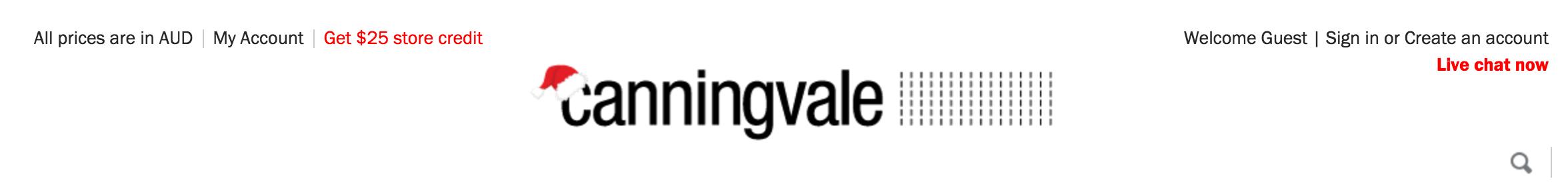Canningvale Header