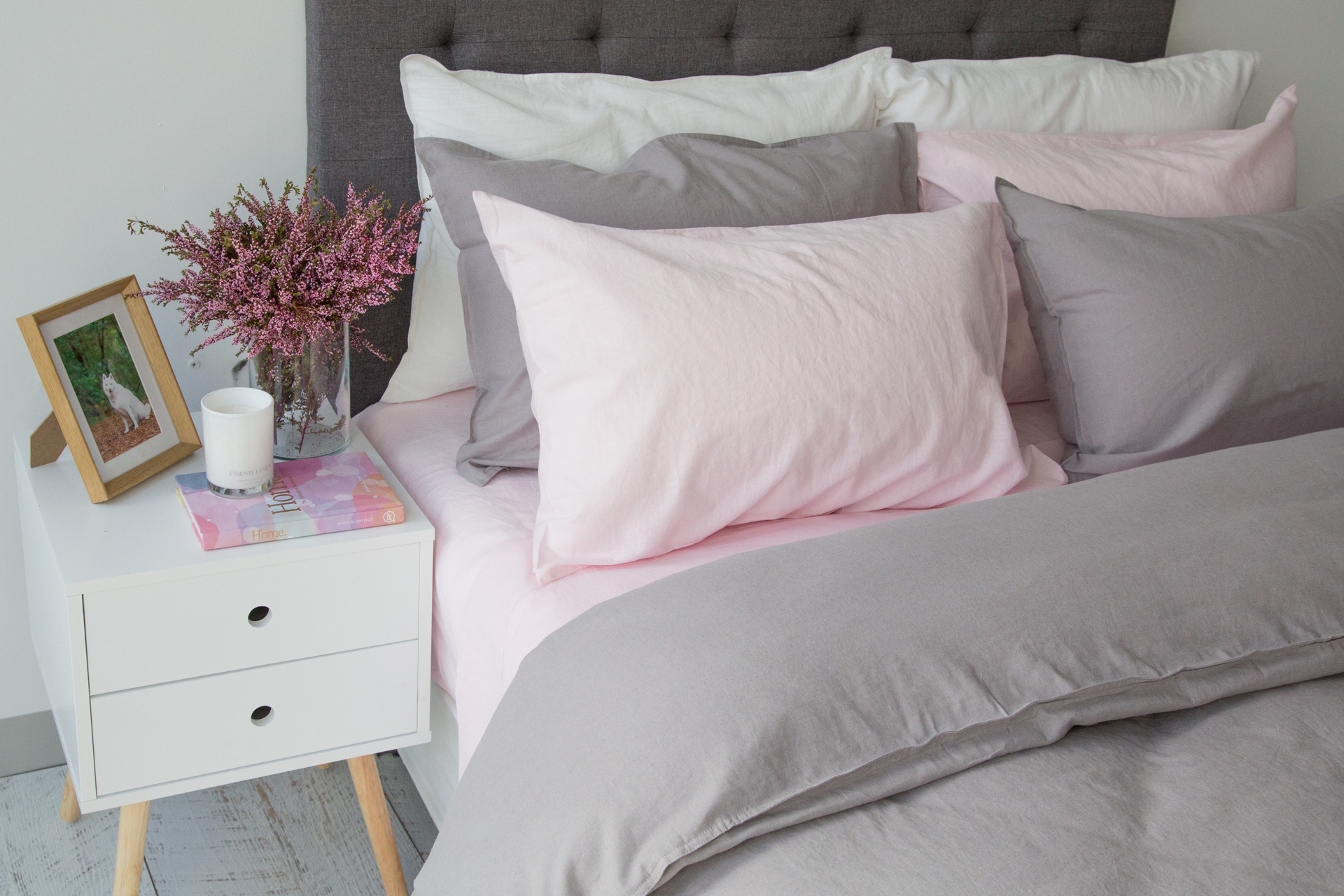 Sogno Linen Cotton Sheet Set