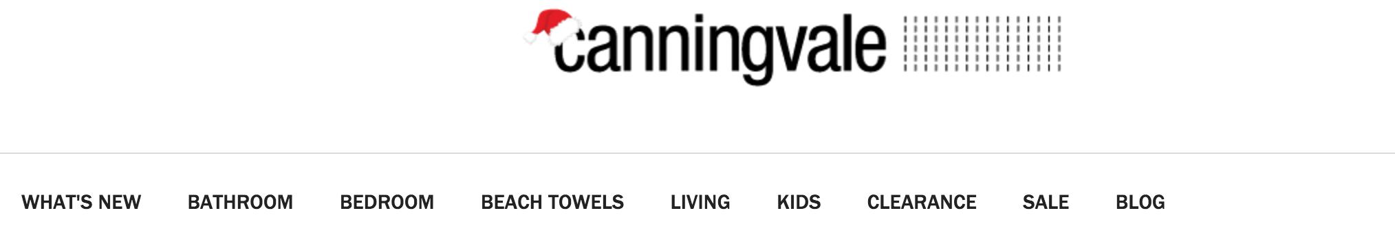 Canningvale Header Menu